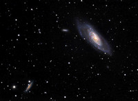 Messier 106 and friends